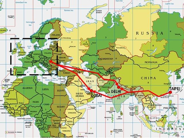 歐洲貨機航線3