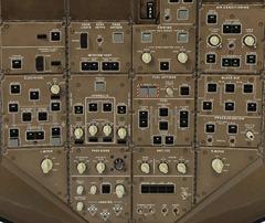 777 overhead panel